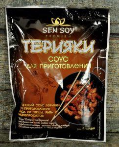 """""""СЭН-СОЙ"""" Соус для приготовления Терияки «Teriyaki» метал. пакет 120гр"""