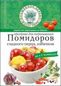 ВД Приправа для маринования помидоров, кабачков и сладкого перца 35 г
