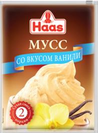 ХААС Мусс ванильный сухая смесь 65 г