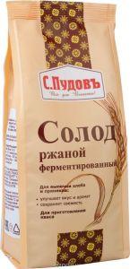 ПУДОВ Солод ржаной ферментированный 300 г пленка