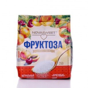 НОВАСВИТ Фруктоза 250 г
